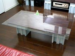 N 様 オリジナルテーブルガラス天板