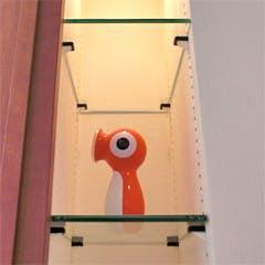 S 様 飾り棚棚板ガラス