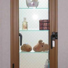 T 様 ガラス飾り棚