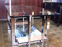 H工業 H様 ガラステーブルのガラス