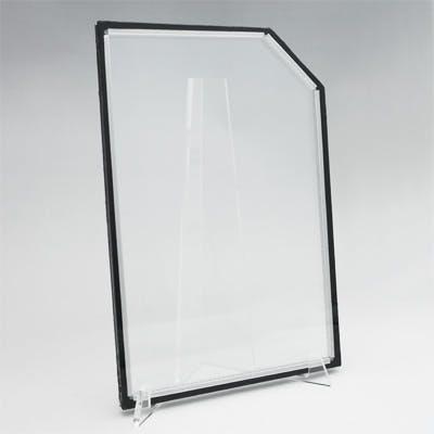 異型ペアガラス コーナーカット