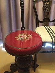 H 様 アンティーク椅子の天板