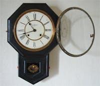 S 様 振り子時計の前面ガラス