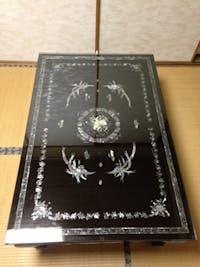 Y.T様 蒔絵のテーブル保護天板