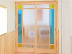 K.I様 引き違い戸のガラス