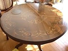 S.T様 円型テーブルトップ