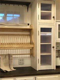 H.D様 造作キッチン食器棚