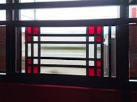 K様 居酒屋の地窓のガラス