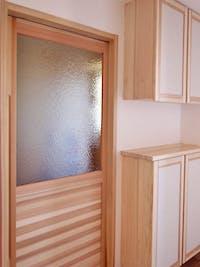 S様 室内ドアのガラス