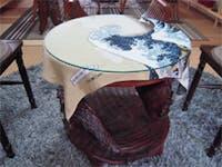 K様 丸テーブルの天板