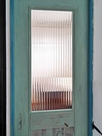 H様 ドアのガラス