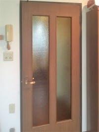K様 室内ドアのガラス割れかえ