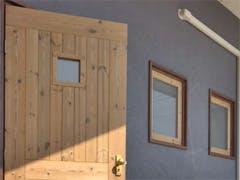 W様 ドアと窓のガラス