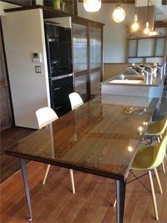 K様 無垢の木テーブルの天板