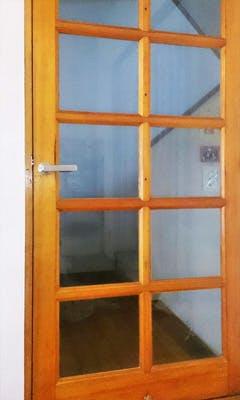 K様  室内ドアの窓ガラス