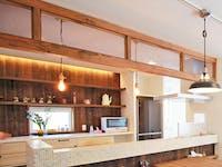 F社 S様 室内窓(キッチンの垂壁)