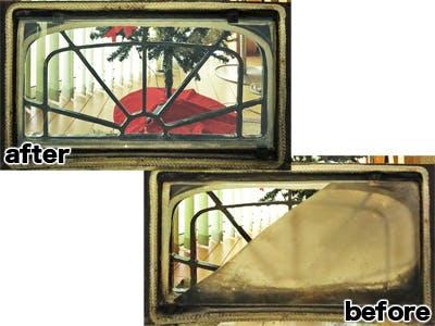 N有限会社 薪ストーブのぞき窓