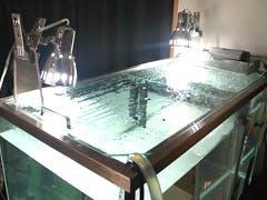 T様 水槽の天板ガラス