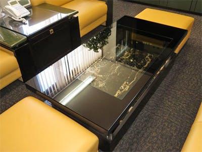 T様 応接室のセンターテーブル