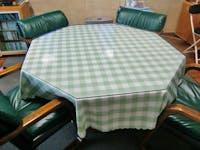 八角形のテーブルトップ