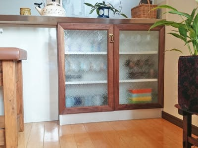 S.Y様 自作の食器棚