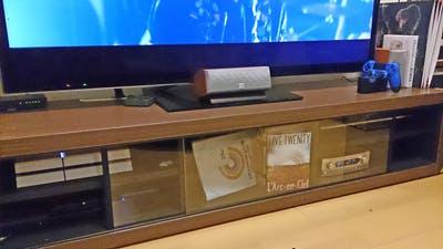 H.H様 テレビ台のスライドガラス