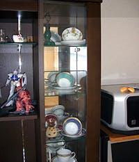 K.A様 TVボードガラス棚