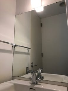 Y様 浴室鏡、洗面所鏡