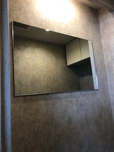 M様 洗面所鏡 トイレの鏡