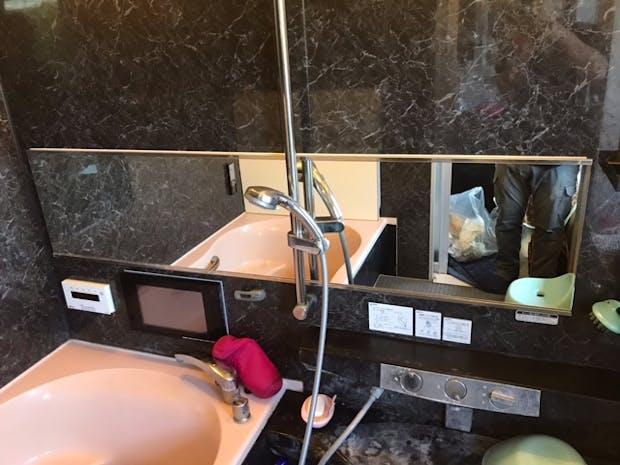 T様 浴室用鏡