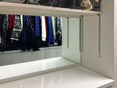 K様 WICの壁掛け鏡(アクセサリー確認等に使用)