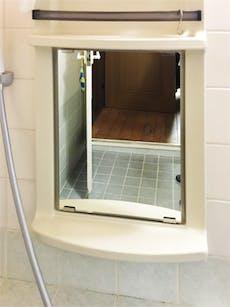 K様 浴室鏡の交換