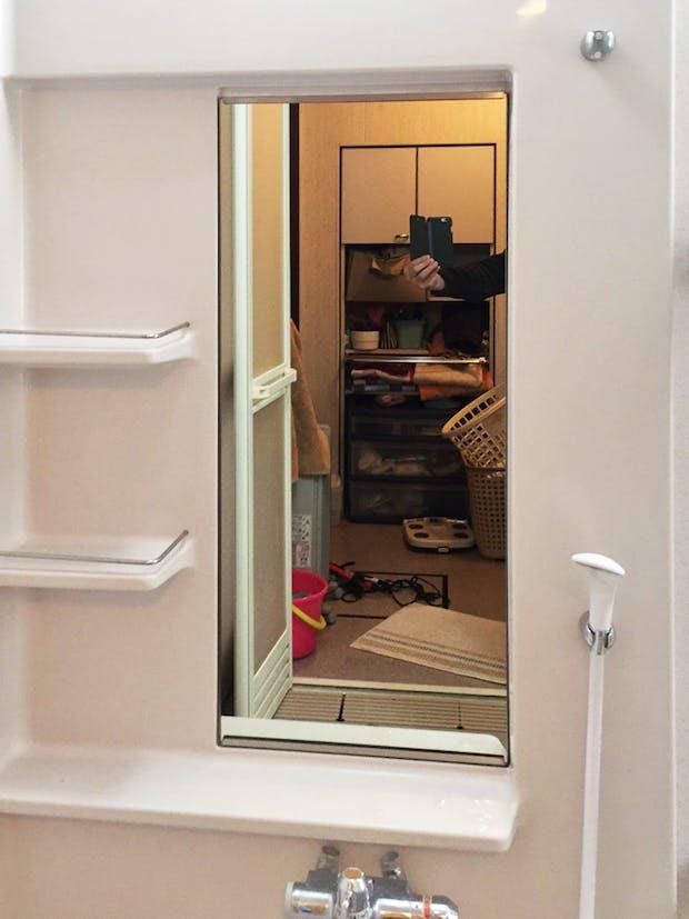 S様 浴室鏡