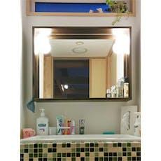 U様 洗面所鏡
