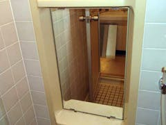 M.F 様 浴室の鏡