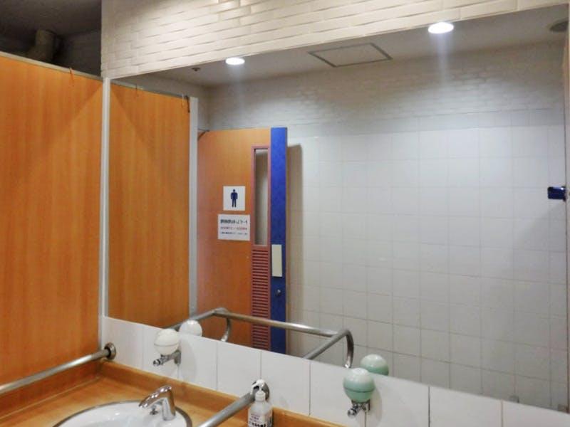 駅の洗面所