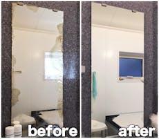M.M様 浴室鏡の交換