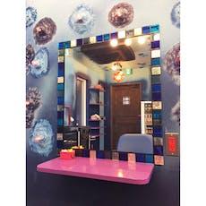 T.Y様 美容室の鏡