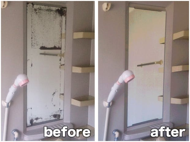 S.C様 浴室鏡の修理