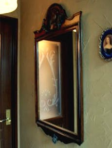 O.Y様 アンティークミラーの鏡交換