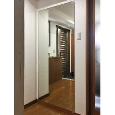 Y.T様 玄関鏡