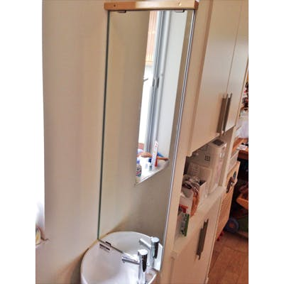T.M樣 洗面所の鏡