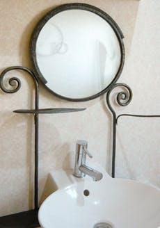 アートショップスパくん 鏡付きオブジェ