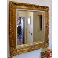 H 様 枠付きの鏡の交換