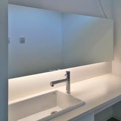 Y.M様 洗面所の鏡